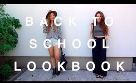 BACK TO SCHOOL LOOKBOOK '15 | STYLETHETWO