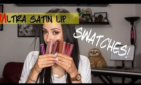 Colourpop Ultra Satin Lip Swatches and Review