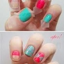 lined nails
