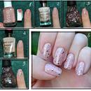 Glitter Egg Shell nail effect + tut