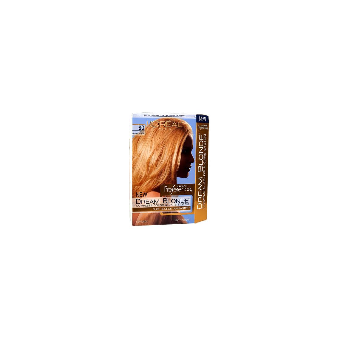 Loral Dream Blonde Hair Color Medium Golden Blonde 8g Beautylish
