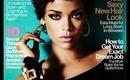 Rihanna Glamour Magazine Inspired Makeup