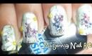 Daisy Party Nail Art collaboration with solelynamelessangel / Diseño de Margaritas