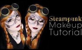 Steampunk Halloween Makeup Tutorial - 31 Days of Halloween