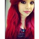 Deep bright red hair 🔥