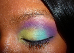 "Nicki Minaj ""Bedrock"" video makeup, inspired by MakeupbyLeinaBaaaby 1.2"
