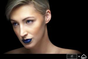 Photographer Errisson Lawrence Gotta love a blue lip!