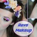 Rave & Music Festival Makeup
