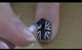 Nail tutorial: Union Jack (UK)
