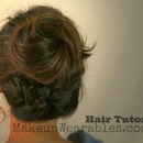 Hair Tutorial | Braided Messy Bun & Ponytail | Back-to-School Hairstyles