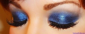 For more information on products used, please visit: http://www.vanityandvodka.com/2013/05/brilliant-blue.html :-)