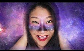 "Galaxy ""Face Paint"" Look | ButterflyJasmine49"
