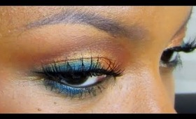 EYES: GOLDEN TOUCH OF TURQUOISE