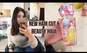 Japan Vlog 6: Hair Cutting, Yatai, Beauty Haul ♡ 2019