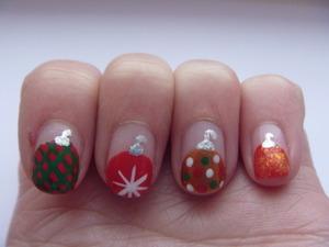 Christmas Ornament Nails, December 17 2011