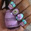 Pastel Hime Gyaru Nails (3D nails)