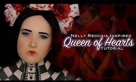 #31DAYSOFHALLOWEEN l🎃l Nelly Recchia Inspired l❤️l Queen of Hearts Tutorial