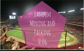 Random Moving and Packing Vlog