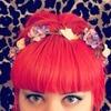 Orange Hair + Flower Crown