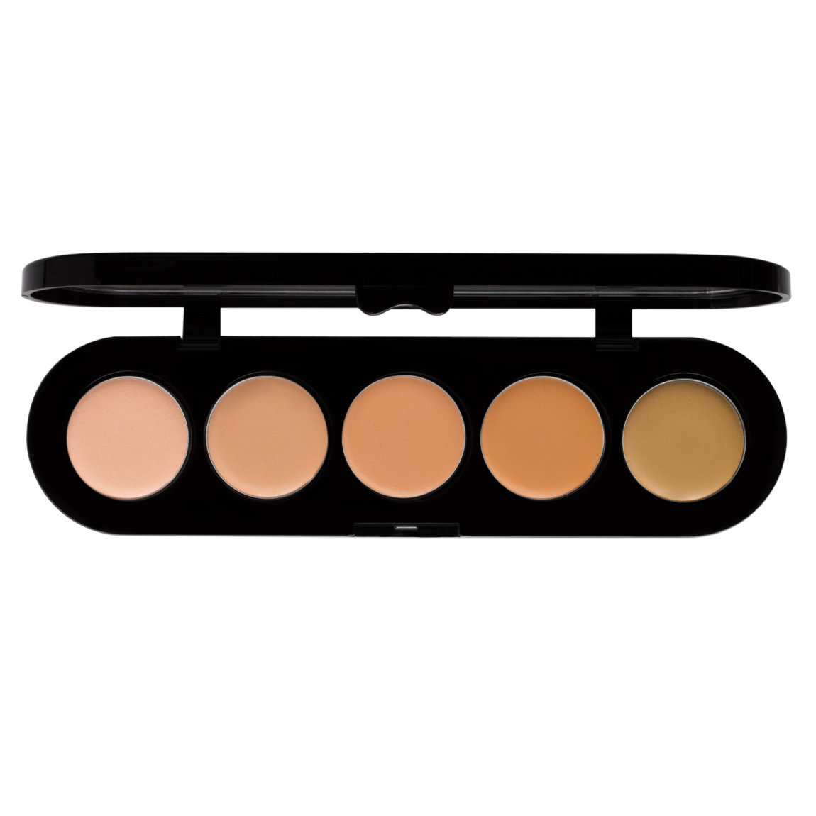 Make-Up Atelier Palette 5 Cream Concealers APJ product smear.