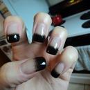 Black Gradient Tips