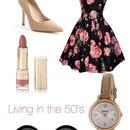 Livin in the 50's😍👗🎀