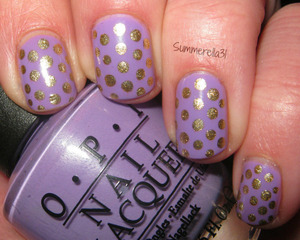 OPI Do You Lilac It? and Orly Luxe
