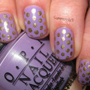 Gold and Purple Dotticure