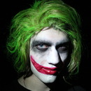 Joker Halloween Makeup!