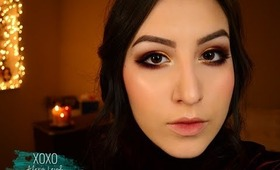 Burgundy & Copper Smokey Eye Tutorial