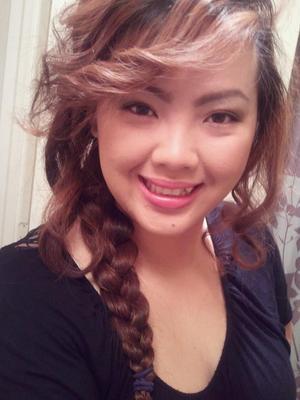 Messy braid look--->