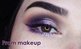Prom Makeup / Purple Hues