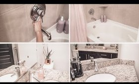 Cleaning Organizational Bathroom Tips for Overwhelmed People | ANN LE