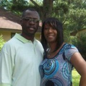 Me and my hubby!