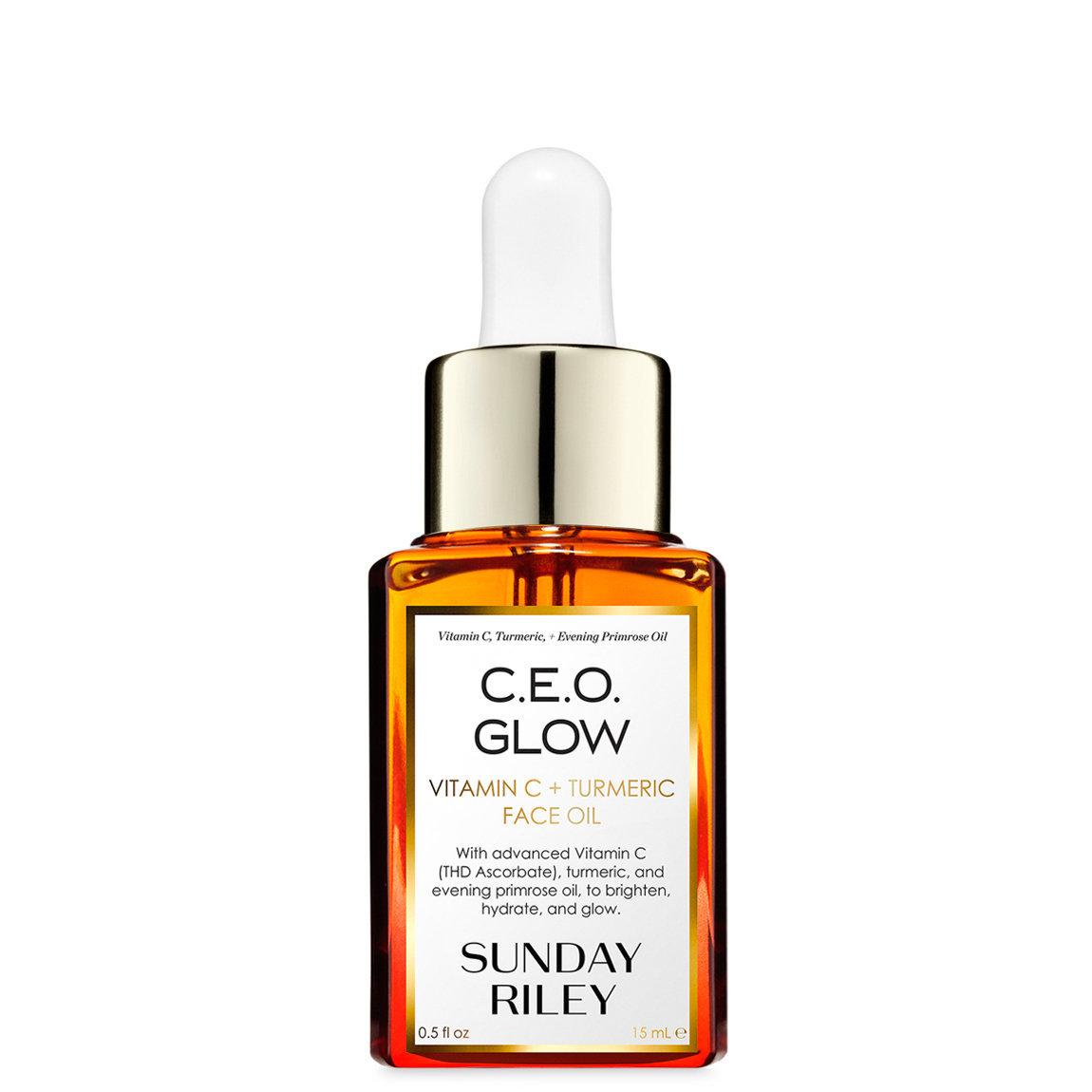 Sunday Riley C.E.O. Glow Vitamin C + Turmeric Face Oil 15 ml alternative view 1 - product swatch.