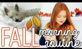 FALL MORNING ROUTINE 2016 | CarolaneCP