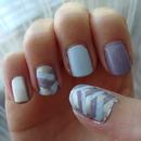 Fishtail nails!