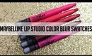 Maybelline Color Blur Matte Lip Pencil Swatches & Giveaway.