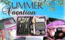 What's In My Travel Bag - makeup & skin care (How to pack your travel bag)