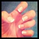 My first french mani :D