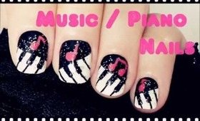 Music / Piano Nails