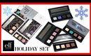 ELF Holiday Nude to Bold Look Books | Review & Swatches