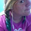 Dip Dyed Hair -Turquoise-