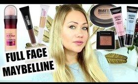 Full Face Maybelline deutsch 2019   Mein Alltags Make up Look mit Produkten aus dem Adventskalender