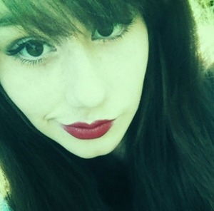 I'm quite found of this photo and how it makes my eyes look. It also reminds me of old Hollywood glamour which I love.