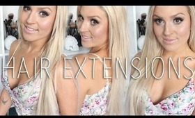 All About My Extensions! ♡ & GIVEAWAY. Keratin Bonded & Clip In Extensions