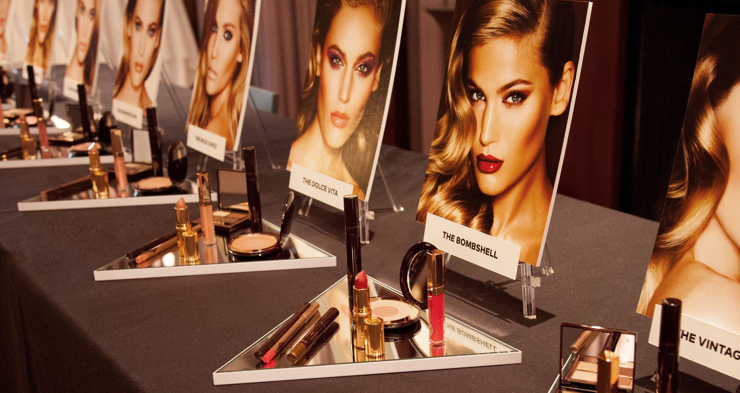 Charlotte Tilbury Looks at Beautylish