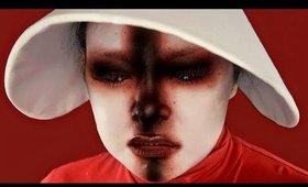 Shironuri Makeup: The Handmaid's Tale