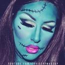 Lady Frankenstein Halloween Look