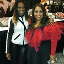 Me and Queen of Blending IMATS Toronto 2013